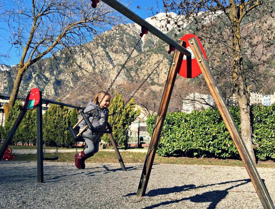 Andora la Vella w lutym