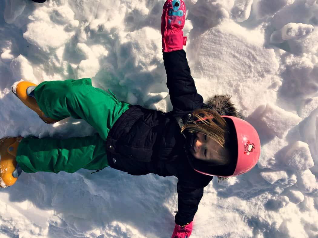 Andora narty z dziećmi