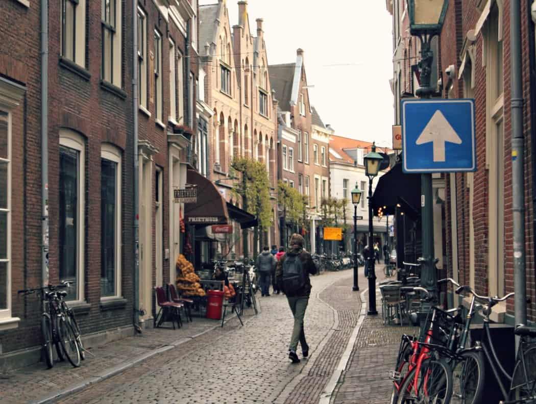 Uliczki Haarlem