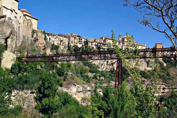 Cuenca zwiedzanie - most St Pablo