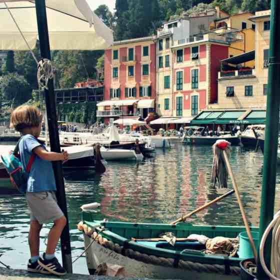 Portofino z dzieckiem