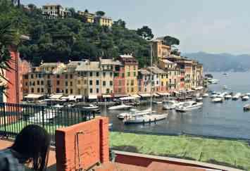 Widok na Portofino