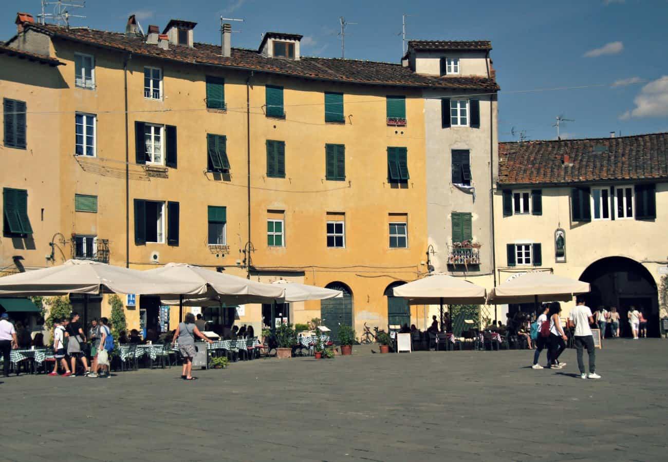 Zwiedzanie Toskanii - Lucca