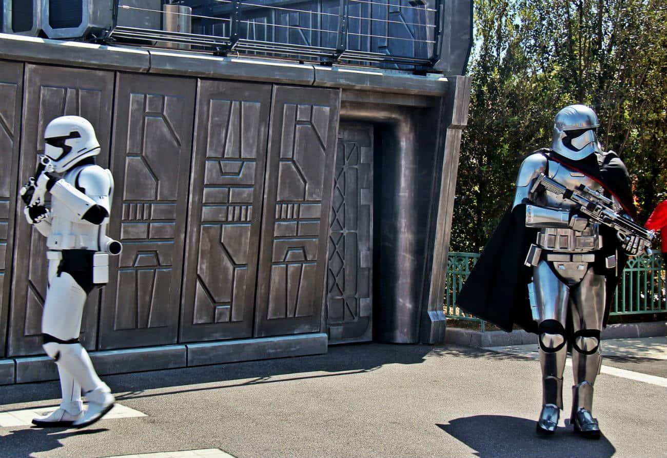 Disney Studios - pokaz Star Wars