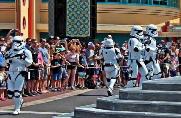 Star Wars w Disneylandzie