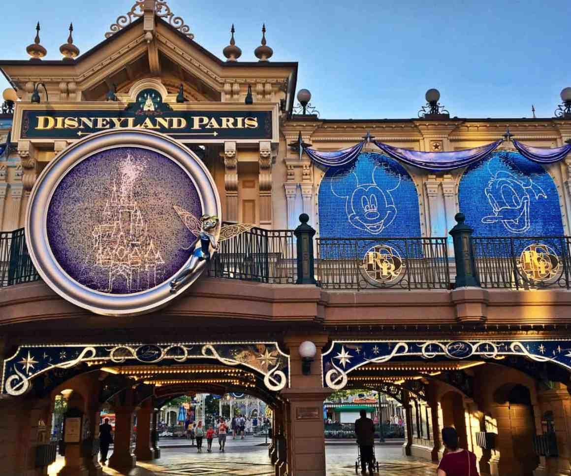 Wieczór w Disneyland Paris