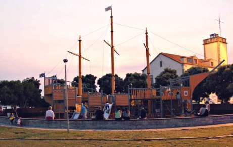 Plac zabaw w Esposende