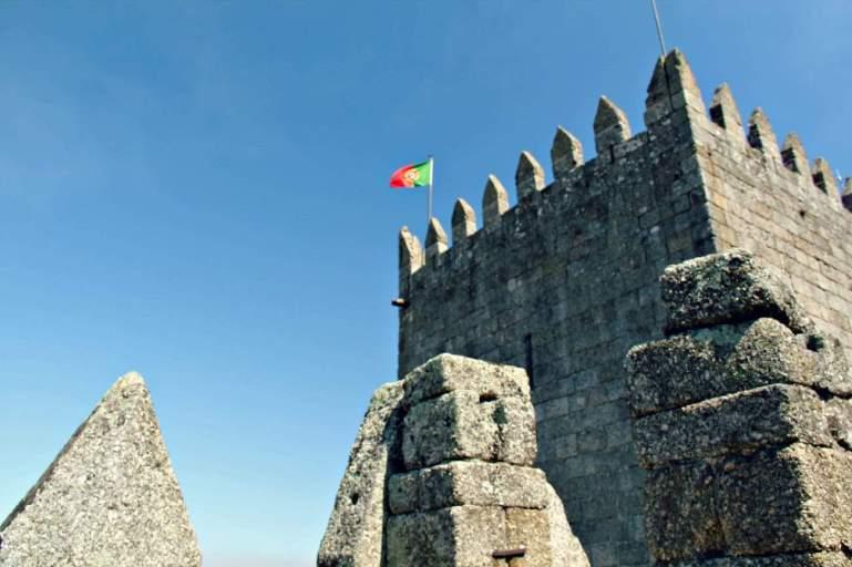 Zamek w Guimaraes