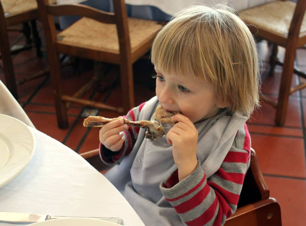 Hiszpania z dzieckiem - co jeść
