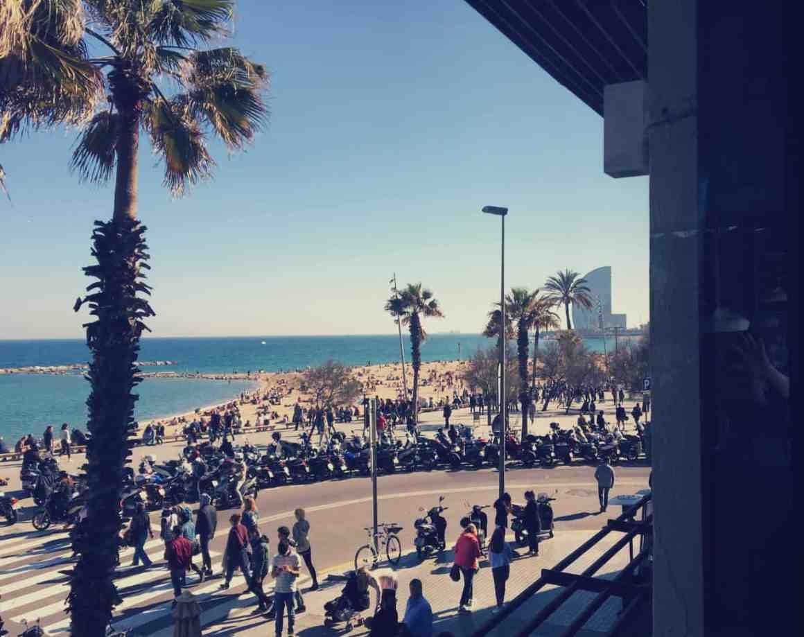 weekend w Barcelonie - la Barceloneta
