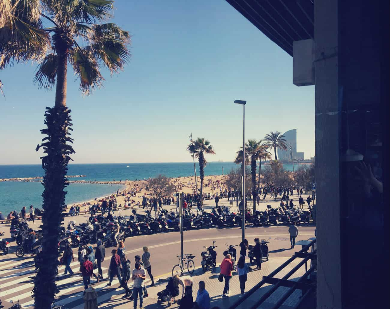 Widok na Barcelonete - Barraca
