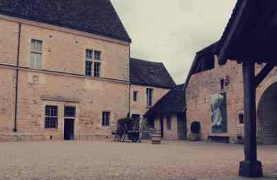 Zamek clos de Vougeot