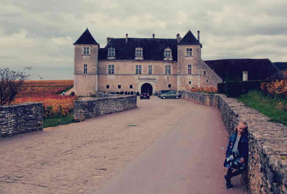 Burgundia z dziećmi - zamki