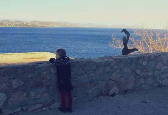 Lazurowe Wybrzeze z dzieckiem