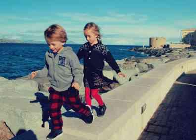 Saint Tropez z dzieckiem