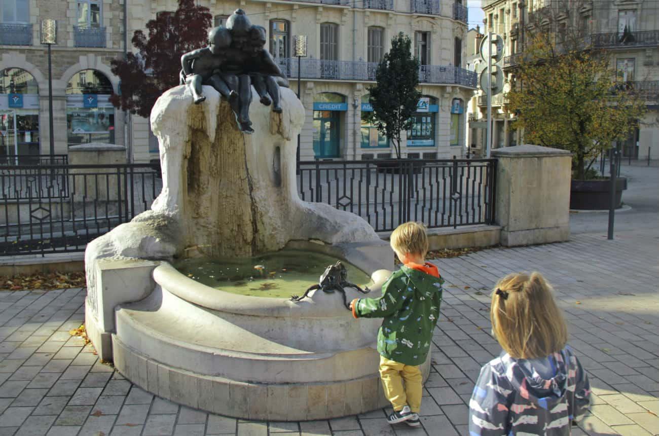 Zwiedzanie Dijon z dziecmi