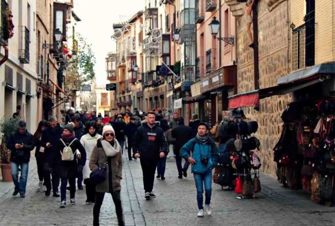 Toledo w grudniu