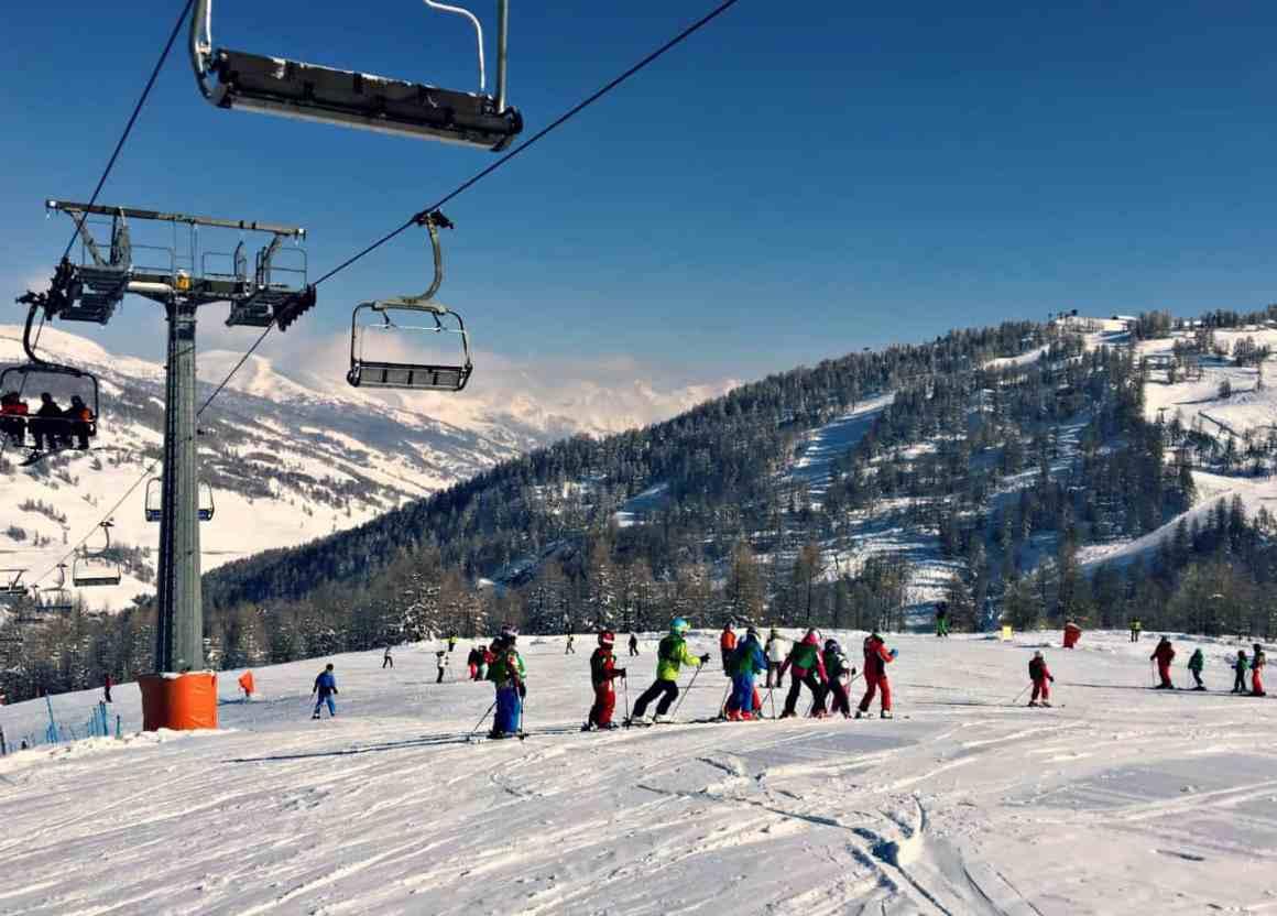 Włochy - narty z dziećmi