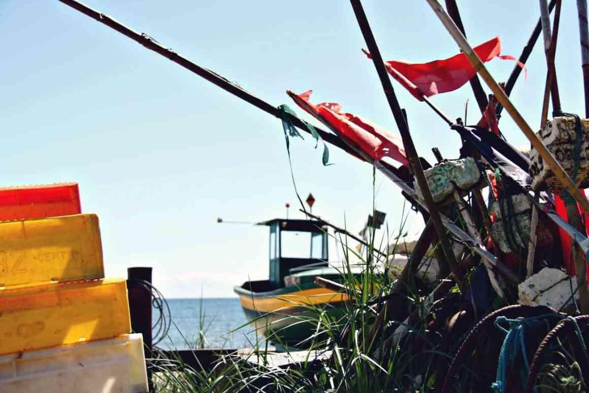 Gdynia z dzieckiem - plaża w Orłowie