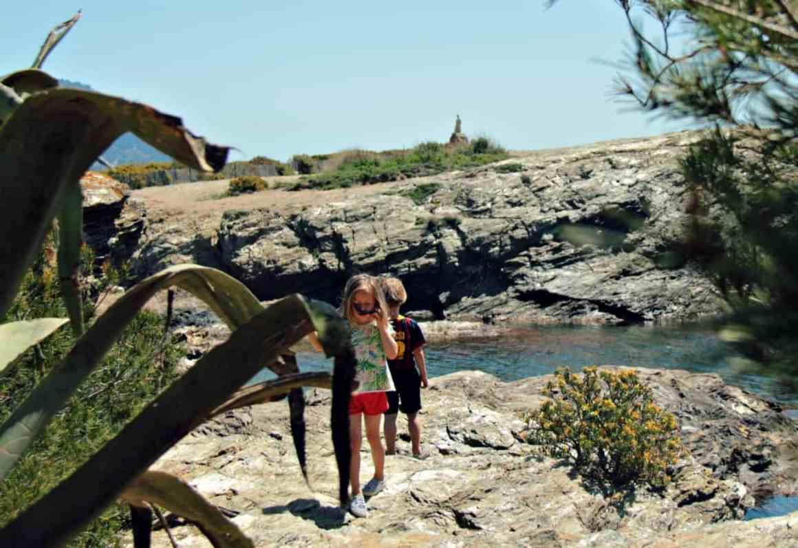 Lazurowe Wybrzeże z dziećmi