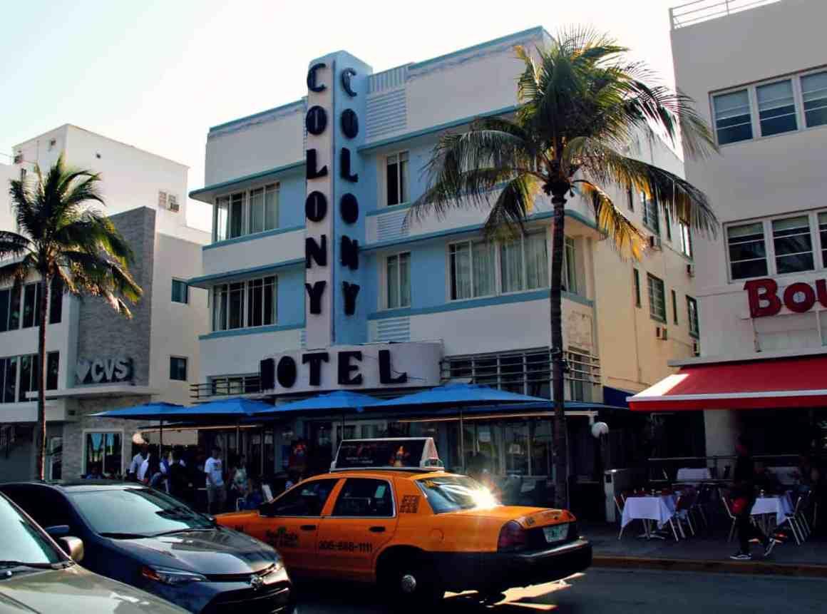 Zwiedzanie Miami - Ocean Drive