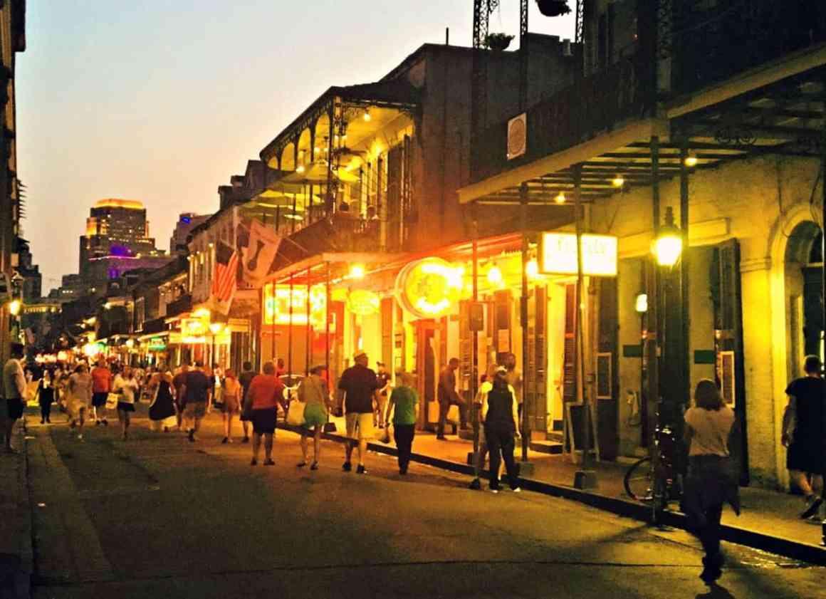 Wieczor w Nowym Orleanie