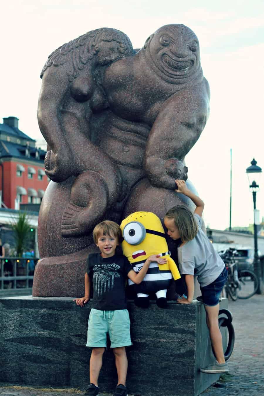 Sztokholm z dzieckiem