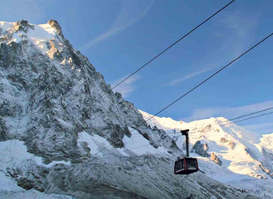 Narty we Francji pod Mont Blanc