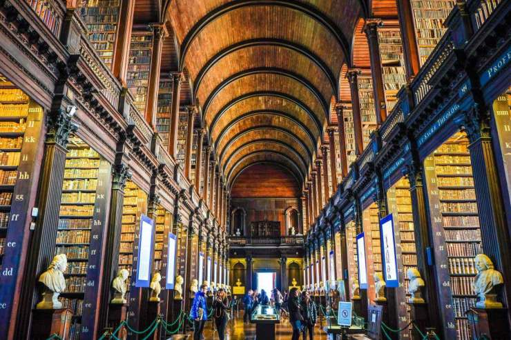 The Old Library at Trinity College Dublin with Kids - Kids Are A Trip