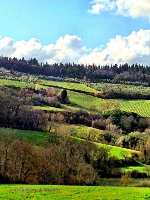 View from Corzano e Paterno