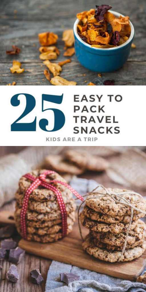 25 Easy to Pack Travel Snacks for a Car Trip-Kids Are a Trip