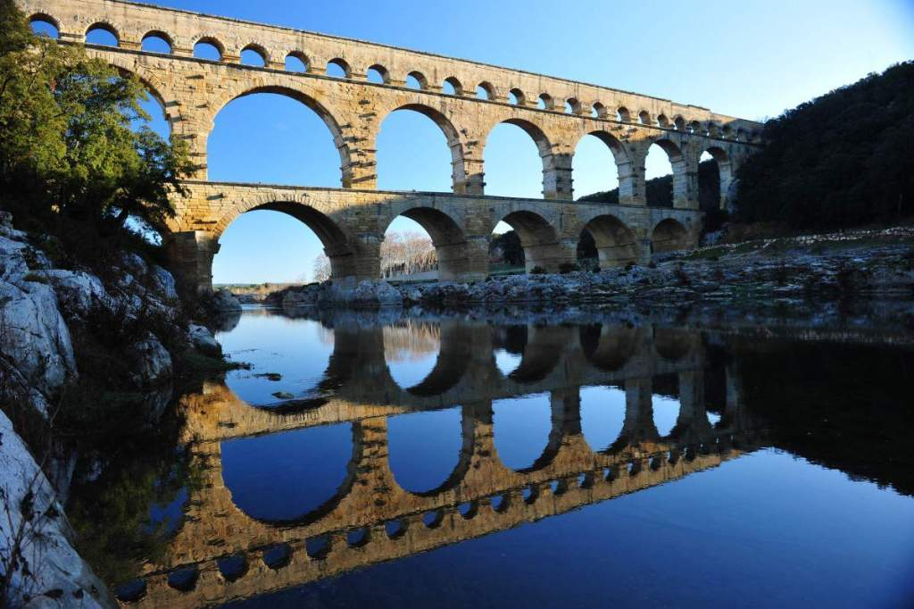 Beautiful Places to visit in Provence Pont du Gard-Kids Are A Trip