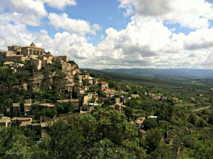 Beautiful Places to Visit in Provence Gordes-Kids Are A Trip