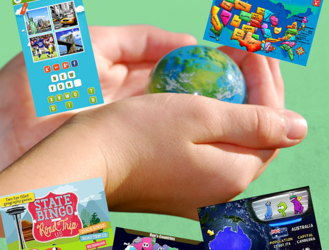 12 Favorite Apps for Teaching Kids Geography