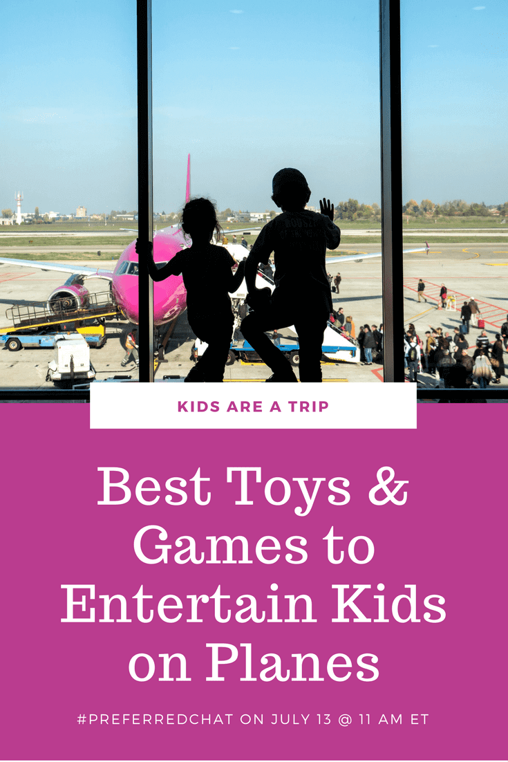 Best Toys & Games to Entertain Kids on Planes-Kids Are A Trip