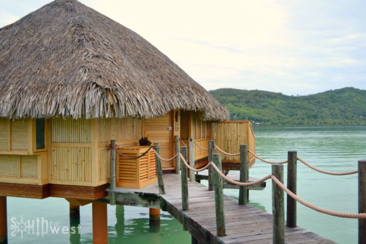 Over the Water Bungalow-Kids Are A Trip