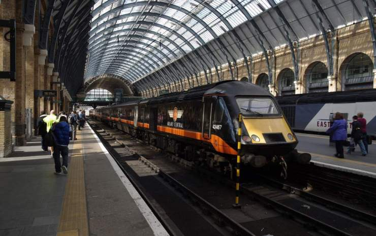 How to Travel to Europe on a Budget try the Train station-Kids Are A Trip