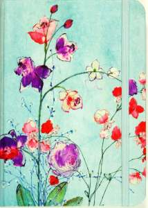 Fuchsia Blooms Notebook-Kids Are A Trip