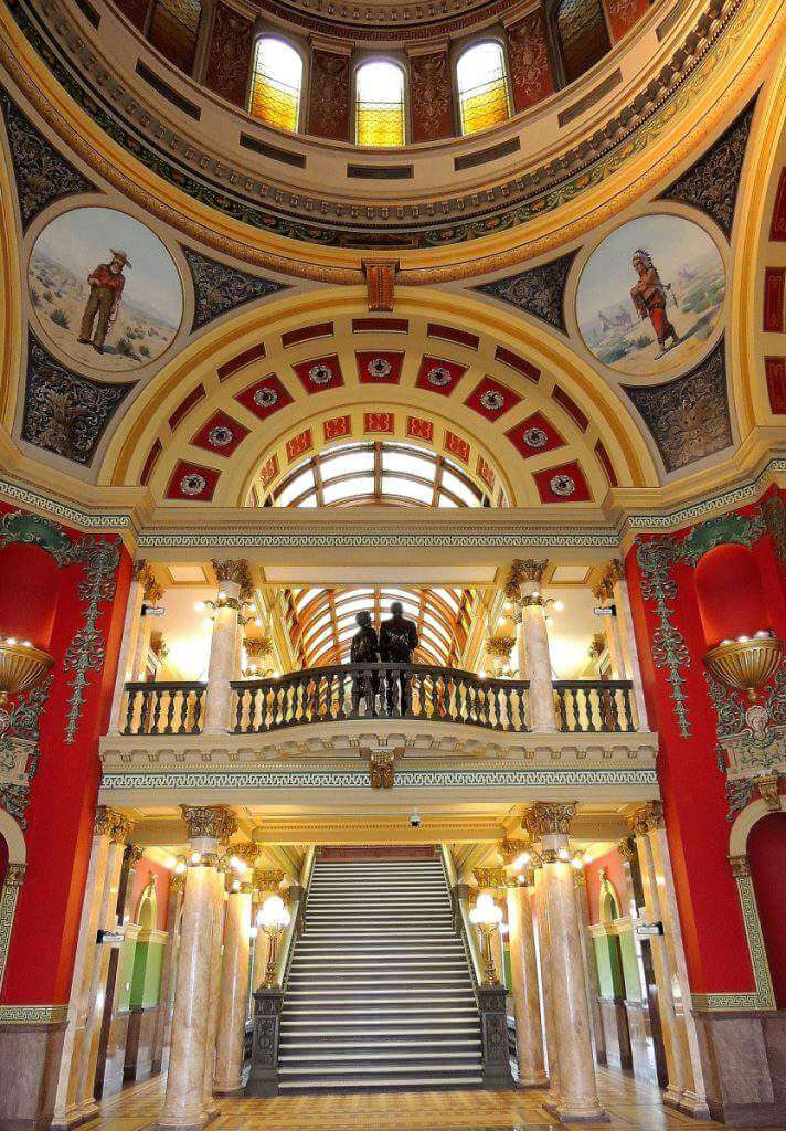 Inside Montana State Capitol-Kids Are A Trip