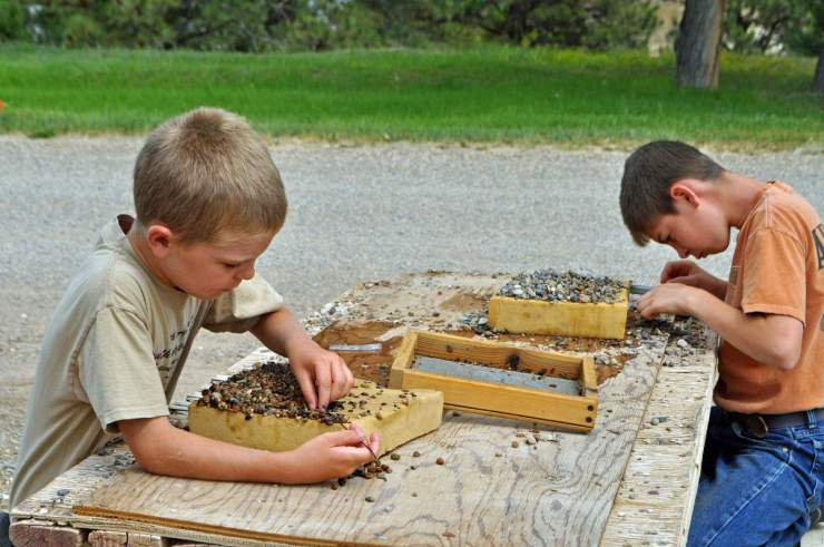 What to Do in Helena Montana Mining for Gems in Helena-Kids Are A Trip