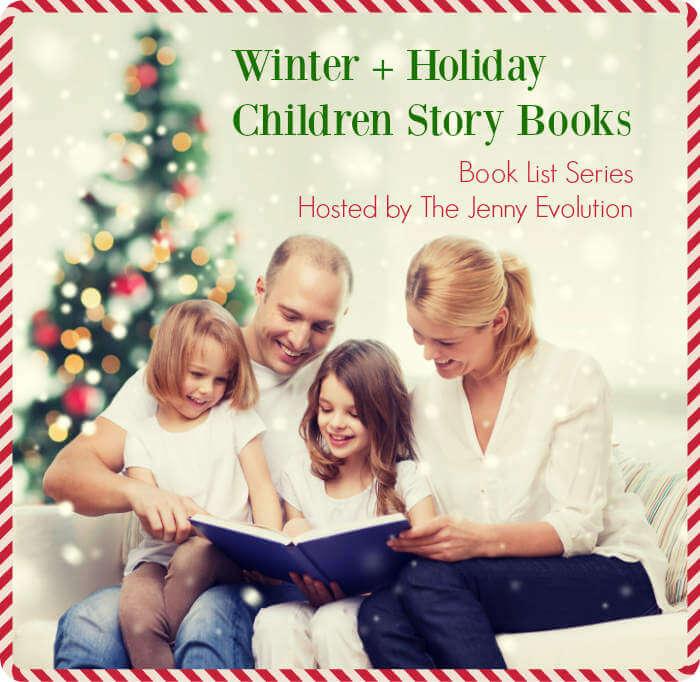 Winter Holiday Child Story Books-The Jenny Evolution