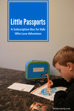 Little Passports – A Subscription Box for Kids Who Love Adventure