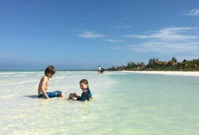 Holbox Mexico is the perfect family vacation away from the crowds. Located two hours from Cancun, Isla Holbox has everything you need for your next family trip. - Kids Are A Trip