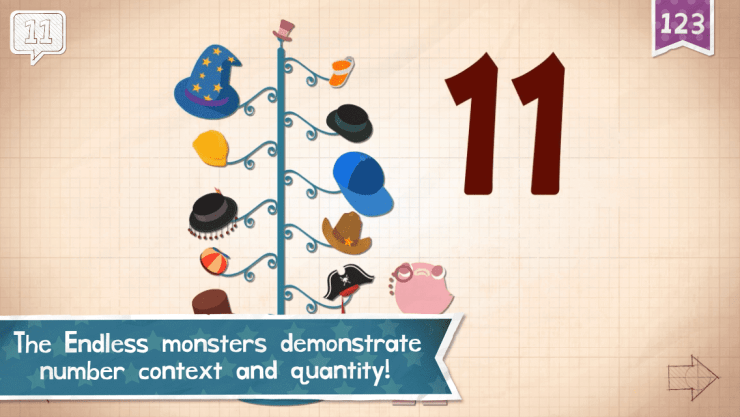 Favorite Apps for Entertaining Kids Endless Numbers-Kids Are A Trip