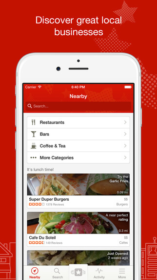 Best Travel Apps for 2016 Yelp-Kids Are A Trip