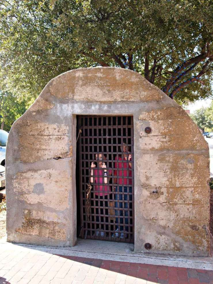 Family Friendly Things to Do in Grapevine, Texas Pioneer Jail-Kids Are A Trip