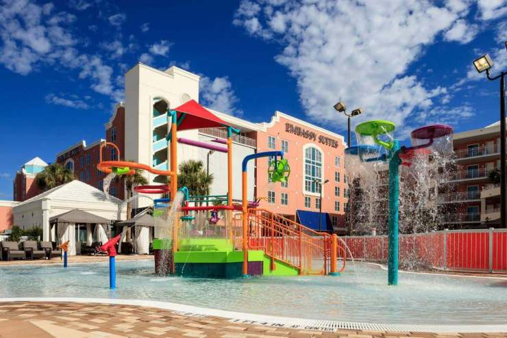Best Family Friendly Resorts in Orlando Embassy Suites Buena Vista-Kids Are A Trip