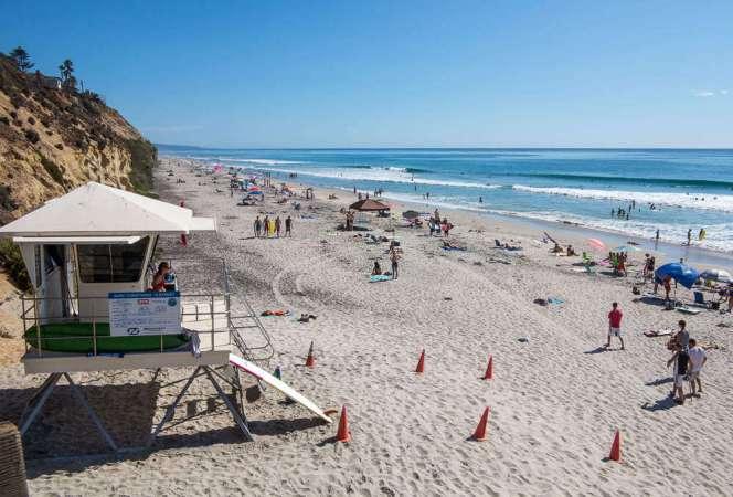 Best Family Beaches in San Diego Moonlight Beach Encinitas-Kids Are a Trip
