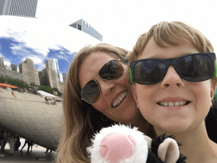 Loews Chicago Millennium Park Bean-Kids Are A Trip