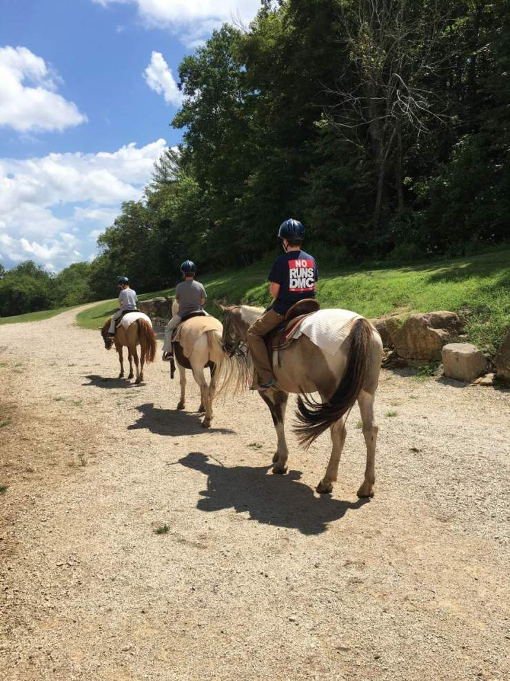 Visit French Lick, Indiana Trail Ride-Kids Are A Trip